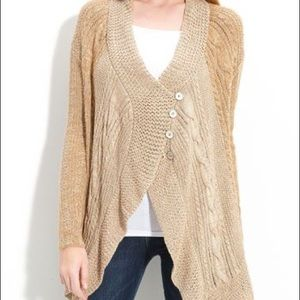 Free People Bohemian Cascade Cardigan Size Small
